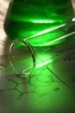 Зеленая химия стоковое фото rf