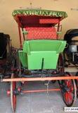 Зеленая хриплая тележка Стоковое фото RF