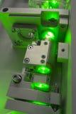 Зеленая часть лазера стоковые фото