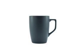 Зеленая чашка изолированная на белой предпосылке Стоковые Изображения RF