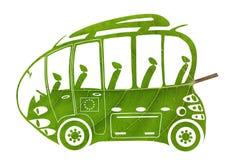 Зеленая шина евро Стоковые Изображения