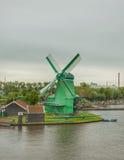Зеленая энергия с силой ветра Стоковая Фотография RF