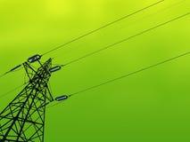Зеленая энергия Стоковые Фотографии RF