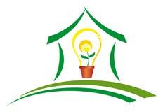 Зеленая энергия иллюстрация вектора