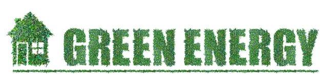 Зеленая энергия Стоковое Фото