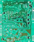 Зеленая электрическая цепь Стоковые Фотографии RF