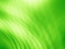 Зеленая яркая абстрактная иллюстрация природы Стоковое Изображение