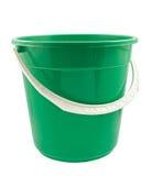 Зеленое ведро Стоковая Фотография