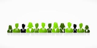 Зеленое дело иллюстрация вектора
