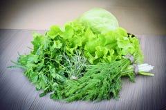 Зеленое здоровое Backgound Стоковые Изображения RF