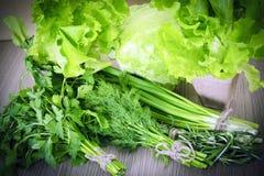 Зеленое здоровое Backgound Стоковая Фотография