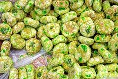 Зеленое итальянское печенье Стоковое Изображение