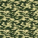 Зеленое камуфлирование с предпосылкой влияния grunge, иллюстрацией вектора Стоковые Фото
