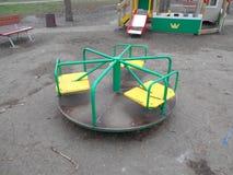 Зеленое качание младенца Стоковые Фотографии RF