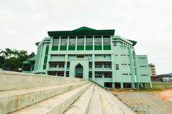 Зеленое корпоративное офисное здание Стоковое Фото