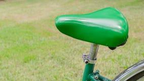 Зеленое место велосипеда на парке Стоковое Изображение RF