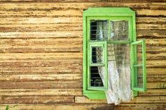 Зеленое окно Стоковые Фотографии RF