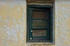 Зеленое окно Стоковое Изображение