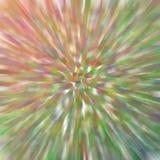 Зеленое оранжевое ровное влияние нерезкости движения к разбивочной предпосылке Стоковая Фотография RF