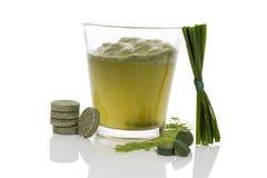 Зеленое питье Стоковая Фотография
