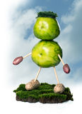 зеленое прожитие Стоковые Изображения RF