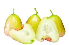 Зеленое розовое Яблоко Стоковые Фото