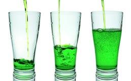 Зеленое стекло Стоковые Изображения RF