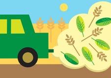 Зеленое топливо Бесплатная Иллюстрация