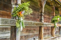 Зеленое украшение Стоковые Фото