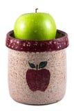 Яблоко в опарнике Яблока Стоковые Фото