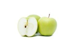 Зеленое яблоко Стоковые Фотографии RF