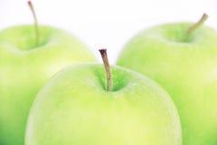 Зеленое яблоко Стоковые Изображения RF