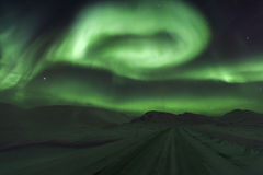 Зеленое aky Стоковое Изображение RF