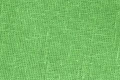 Зеленое backround - Linen холст - фото запаса Стоковое фото RF