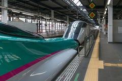 (Зеленое) /E3 (белая) комбинация быстроходных поездов E5 Стоковые Изображения RF