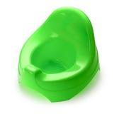 зеленое potty Стоковая Фотография