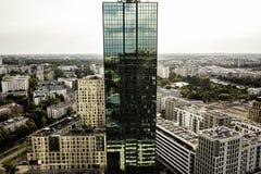 Зеленое Skyscrapter Стоковое Изображение RF