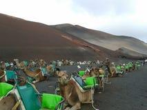 Зеленое vulcano Стоковые Фотографии RF
