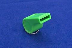 Зеленое whistle_02 Стоковое Изображение RF