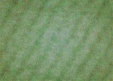 Зеленой покрашенная пульсацией текстура года сбора винограда бумаги предпосылки Стоковое Фото