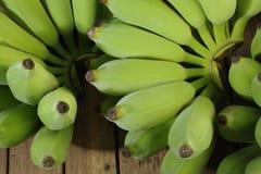 Зеленые бананы Стоковая Фотография