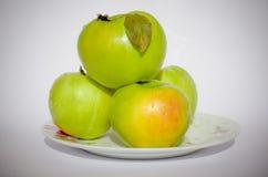 зеленые витамины Стоковые Фотографии RF