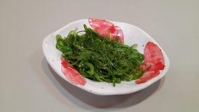 Зеленые водоросли смешанные в шаре Стоковое Фото