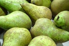 Зеленые груши от рынка Стоковые Фото
