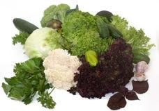 зеленые здоровые овощи Стоковое Изображение RF