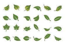 зеленые иконы листают комплект также вектор иллюстрации притяжки corel Стоковые Изображения RF
