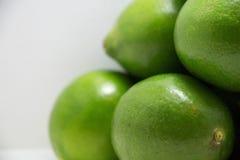 зеленые лимоны группы Стоковые Изображения RF