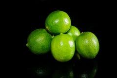 зеленые лимоны Стоковые Фотографии RF