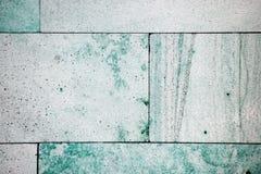 Зеленые и белые обои предпосылки текстуры плитки Стоковые Изображения RF