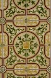Зеленые и желтые плитки Стоковые Фото